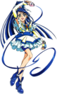 Yes! Pretty Cure 5 Cure Aqua pose4
