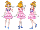 Mahou Tsukai Pretty Cure Mirai Festival Outfit Movie pose3