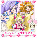 Precure All Stars DX The Movie Character Fresh Precure!