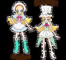 Kirakira Precure Ala Mode Ciel form Patisserie png