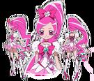 Heartcatch Pretty Cure! Cure Blossom pose2