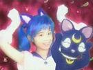 Pretty Guardian Sailor Moon Sailor Luna in her transformation