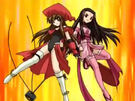 Happy Seven Daikoku-ten and Benzi-ten summoning the Kendotenpa Sky Cannon