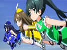 Vividred Operation Aoi, Wakaba and Himawari