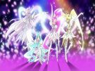 Heartcatch Pretty Cure! Heartcatch Super Silhouette tranformation pose