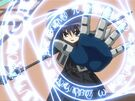 Mahou Shoujo Lyrical Nanoha Chrono using his magic3