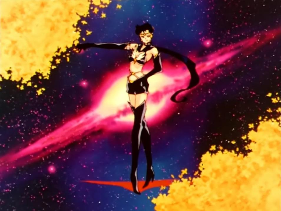 Sailor Moon Stars Fighter Star Power Transformation Pose 2