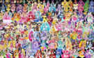 150 Pretty Cure Warriors with Fairies