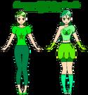 Hanayama Iris and Cure Romatin