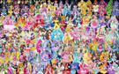 150 Pretty Cure Warriors with Fairies (Updated)