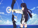 Vividred Operation Rei using her weapon6