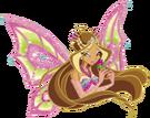 Winx Club Flora Enchantix pose7
