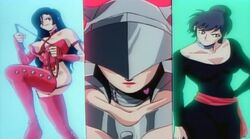 New Cutie Honey forms
