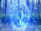 Balala. The Fairies Magic Trial Movie Blue Prince transformation pose