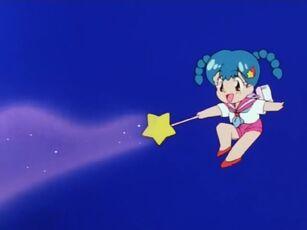 Hana no Mahou Tsukai Mary Bell Paula using her magic