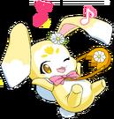 Mahou Shoujo Pixy Princess mascot pose