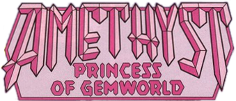 Amethyst, Princess of Gemworld logo