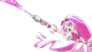 Heartcatch Pretty Cure! Cure Blossom attack pose
