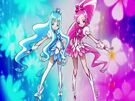 Heartcatch Pretty Cure! Cure Blossom and Cure Marine transformation pose
