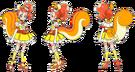 Kira Kira Pretty Cure Ala Mode Cure Custard pose