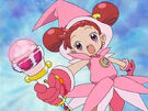 Ojamajo Doremi using her spell 2