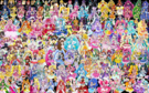 155 Pretty Cure Warriors with Fairies