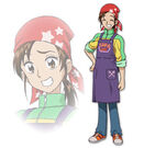 Pretty Cure Max Heart Movie2 Akane profile