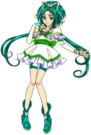 Yes! Pretty Cure 5 Cure Mint pose2