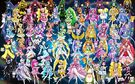 50 Pretty Cure Warriors with Fairies2