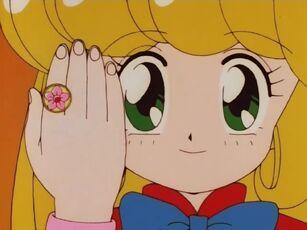 Hana no Mahou Tsukai Mary Bell with her Flower Ring