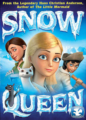 U.S. DVD Cover of Wizart's The Snow Queen