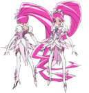 Heartcatch Pretty Cure! Cure Blossom Super Silhouette pose