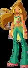 Winx Club Flora s1 pose7
