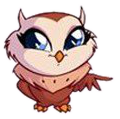 Pop Pixie Owl pose