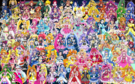 94 Pretty Cure Warriors with Fairies