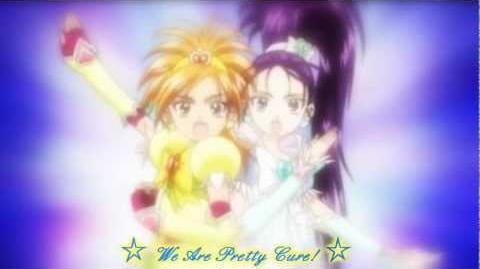 Futari wa Pretty Cure Splash Star - Blright and Windy transformation