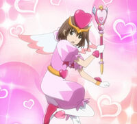 Hikari no Yousei 5 Honoka transformation pose