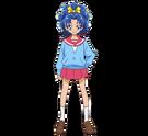 Kirakira Precure Ala Mode Aoi form School png