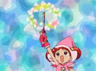 Ojamajo Doremi using her spell