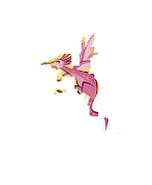 Dragon, Pink