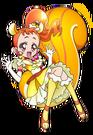 Kirakira Precure Ala Mode Cure Custard Website Pose