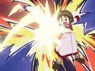 Majokko Tsukune-chan using her magic