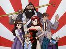 You-Gen-Kai-Sya Ayaka, Nanami, Mamoru, Suimei, Rokkon and Kozu