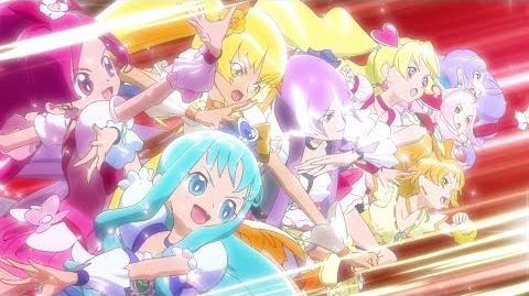 1080p Pretty Cure All Stars DX3 Opening Complete