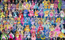 100 Pretty Cure Warriors with Fairies (Updated)