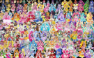 153 Pretty Cure Warriors with Fairies