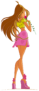Winx Club Flora s1 pose2