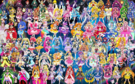 102 Pretty Cure Warriors with Fairies