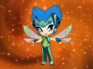 Pop Pixie Plasto transformation pose