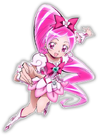 Heartcatch Pretty Cure! Movie Cure Blossom pose